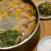 肉団子と白菜の鍋