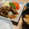 金華豚の生姜焼き