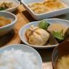 もち粟の袋煮&アジのパン粉焼き