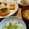 豆腐ハンバーグ…生姜は大事