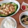 辛くないマーボー豆腐とレンコンサラダ