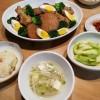 大根と鶏手羽元さっぱり煮、炊き込みチャーハンの献立
