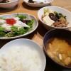 肉豆腐と長いもシャキシャキサラダ