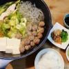 キャベツの漬物&肉団子と野菜の煮物