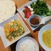 トルティーヤとファルファッレのサラダ