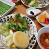 イングリッシュマフィンのハム&卵サンド