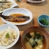 実家に感謝、筍ご飯、うどの天ぷらの夕ごはん