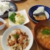 筍の混ぜご飯&ポテトサラダ