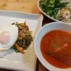 タイ風のひき肉混ぜご飯&春雨のサラダ