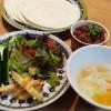 金時豆でチリコンカーン風&キャロットサラダ