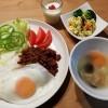 チリコンカン風のライス&洋風豆腐の炒り煮