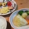 ポトフと鮭のムニエル~タルタルソース