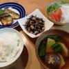 サバの塩こうじ焼き&ひじきの煮物