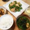 鶏肉のニンニク味噌焼き&刻み昆布の煮物