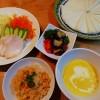 バターナッツカボチャのスープ&ケチャップライス
