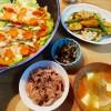 鮭の蒸し焼き&根菜の甘酢炒め