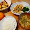 豆腐とひき肉のうま煮