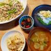 筍ごはん、筍と豚肉の炒め物