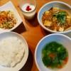肉そぼろで麻婆豆腐