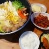 白菜と肉団子のお鍋