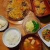 いわしのパン粉焼き、高野豆腐の炒り煮