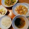 豆腐のうま煮、さつまいもサラダ