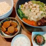 生姜鍋、たけのこ芋の煮物