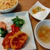 フレンチトーストと海鮮鍋