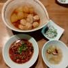 ルーロー飯、冬瓜の煮物